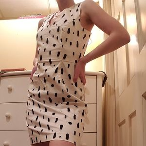 FRENCH CONNECTION ABSTRACT DRESS